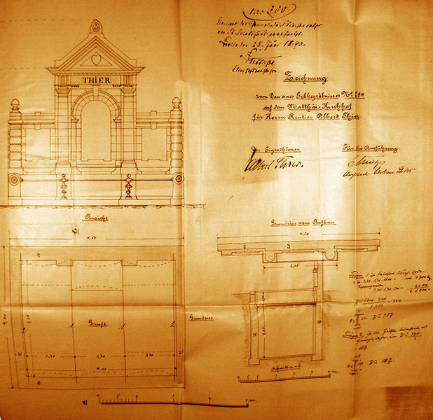 alter st matth us kirchhof knoll julius. Black Bedroom Furniture Sets. Home Design Ideas